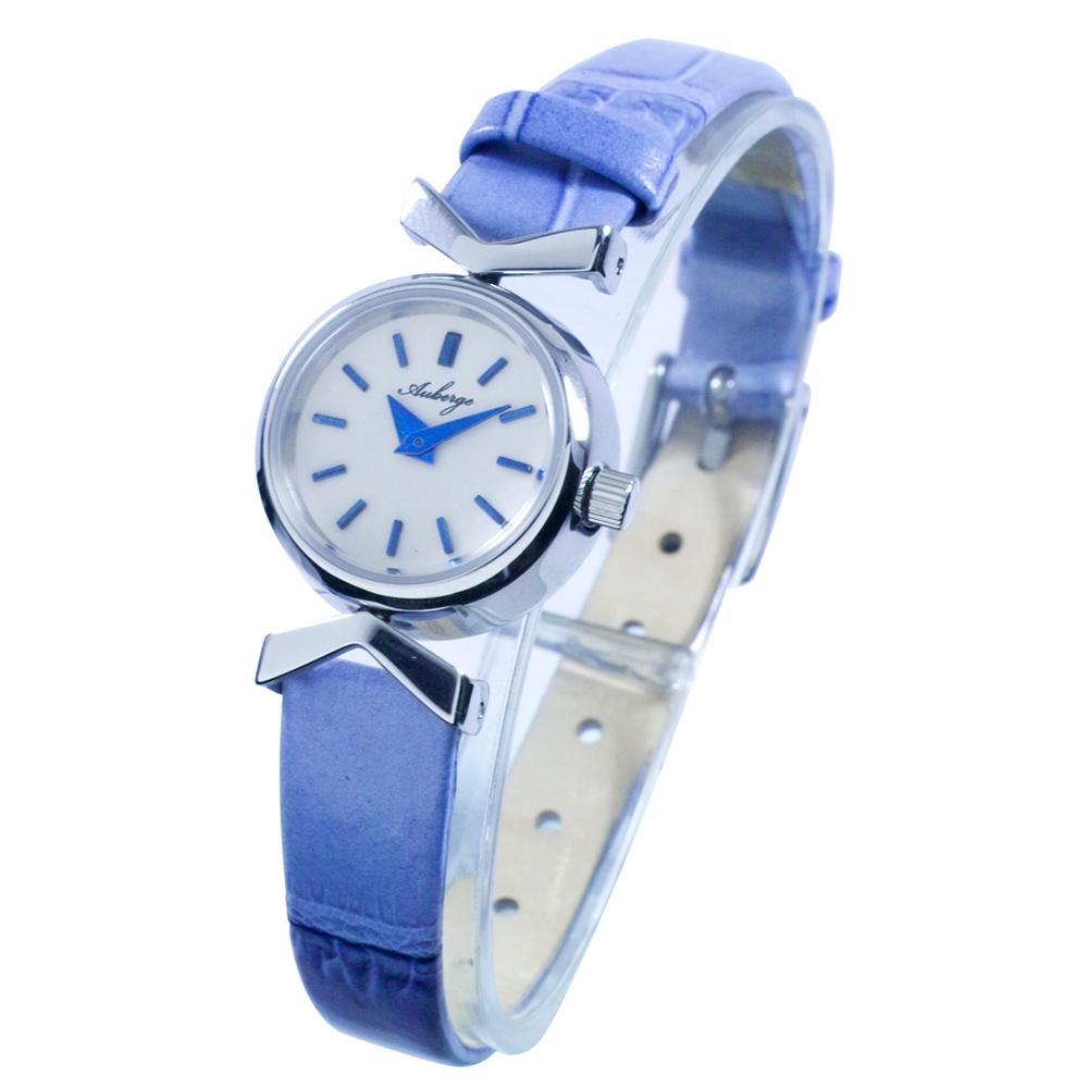 本革レディースウォッチ 腕時計 ドームガラス Auberge【ABG-002】
