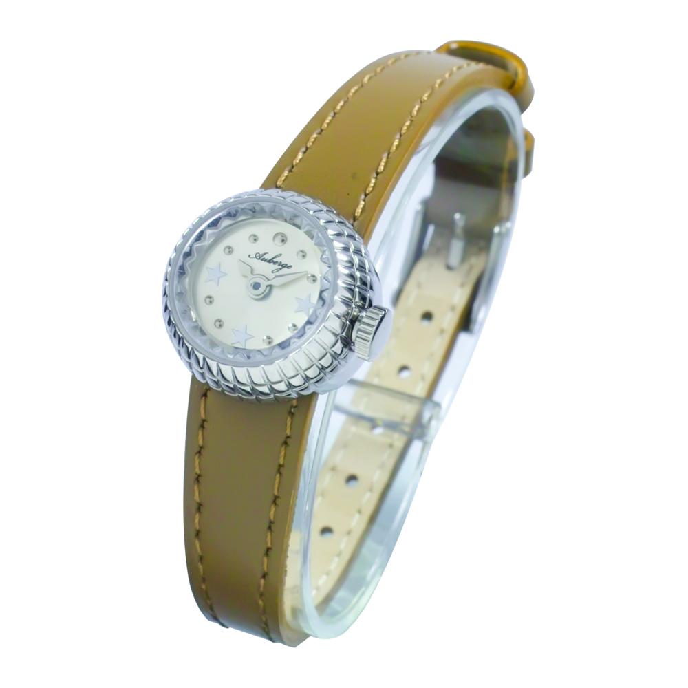 本革レディースウォッチ 腕時計 替えベルト付き Auberge【ABG-001】