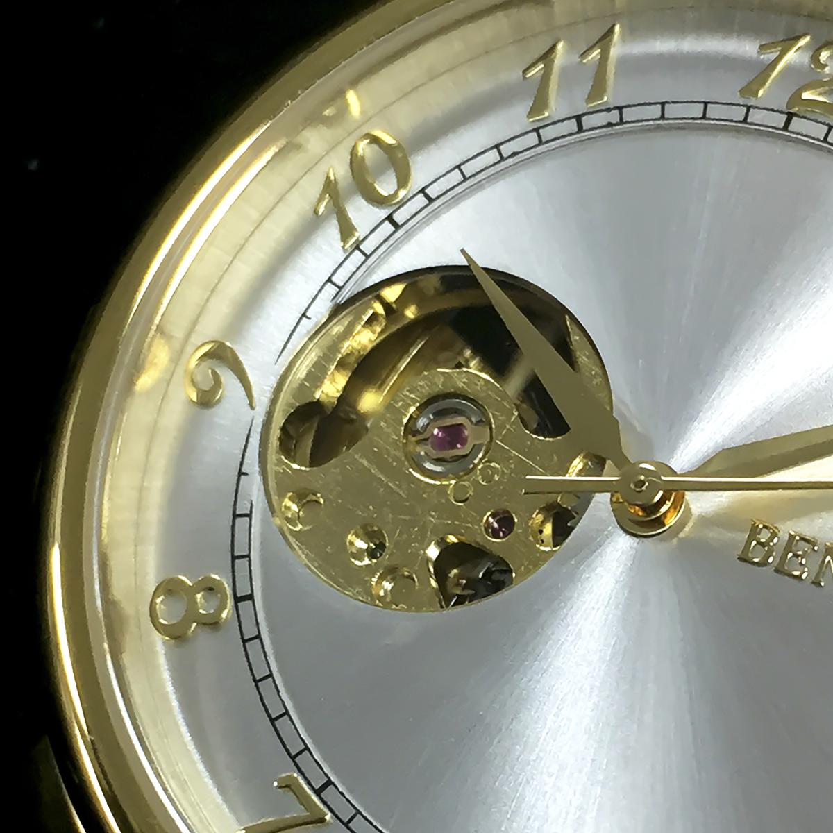 機械式腕時計 アナログウォッチ メンズ BENTLEY ベントレー【BT-AM076】
