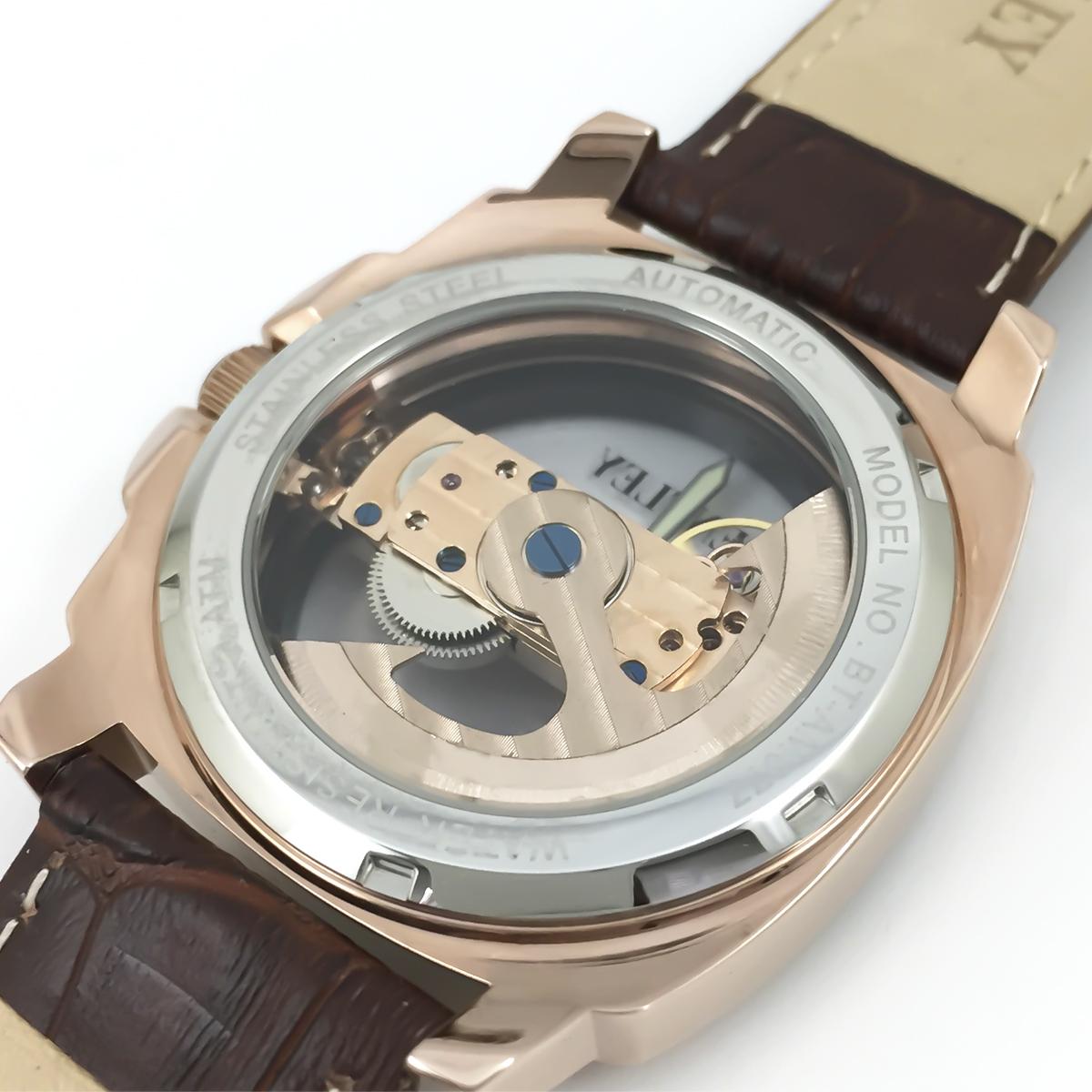 機械式腕時計 アナログウォッチ メンズ BENTLEY ベントレー【BT-AM077】