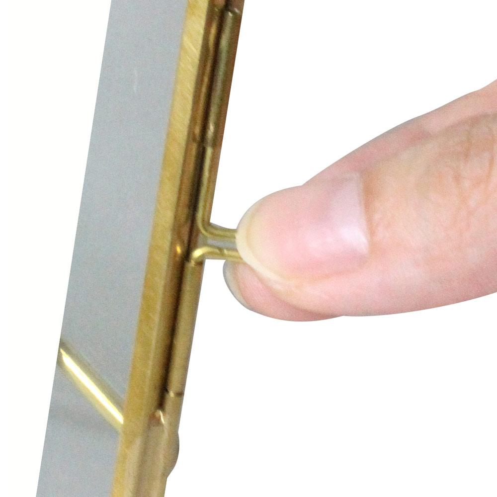 フォトフレーム ガラス 真鍮【IPF-6002】