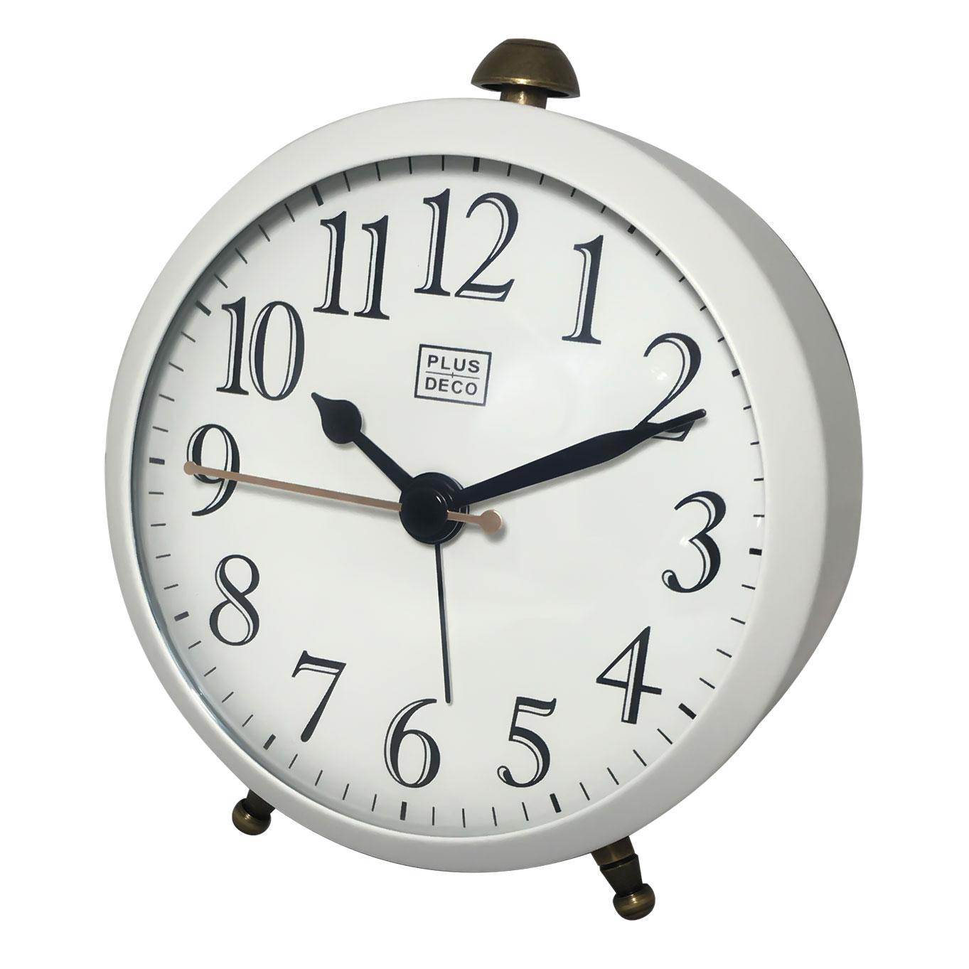 インテリアクロック 置き時計 アラーム PLUSDECO プラスデコ【IAC-5652】