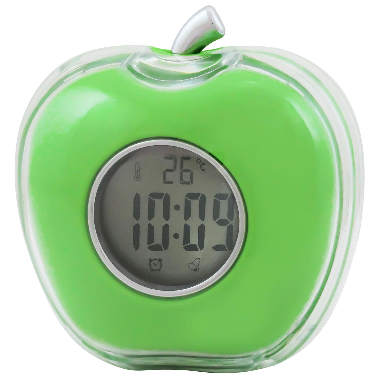 NEWリンゴトーキングクロック インテリア 置き時計 PLUS DECO プラスデコ【IAC-5653】