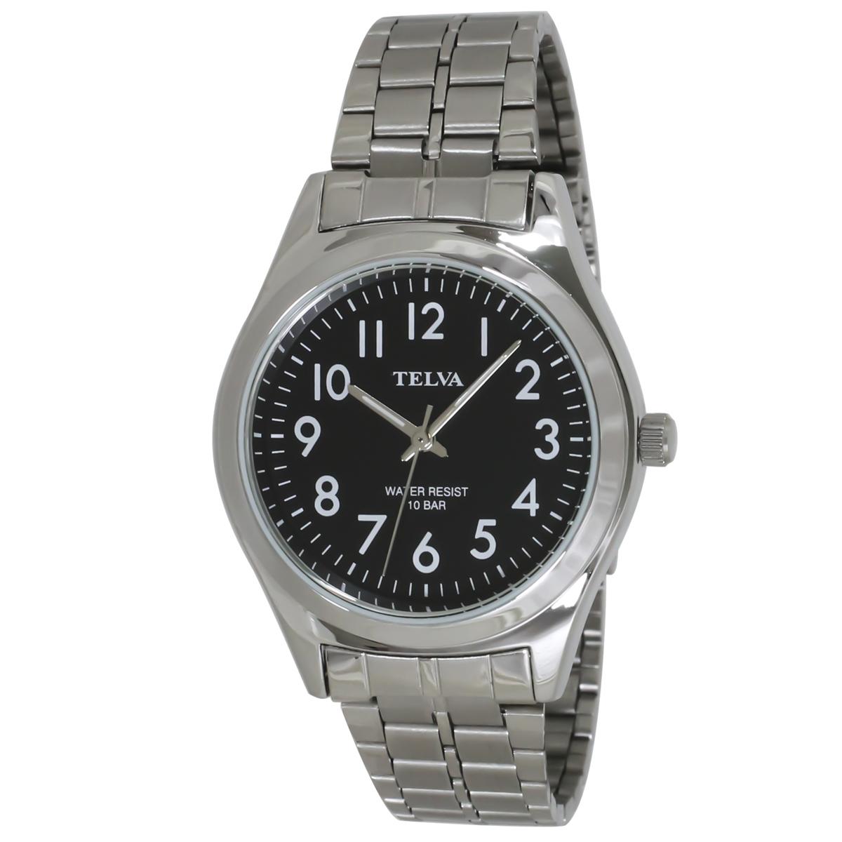 TELVA テルバ アナログウオッチ メンズ 10気圧防水 腕時計【TE-AM010】