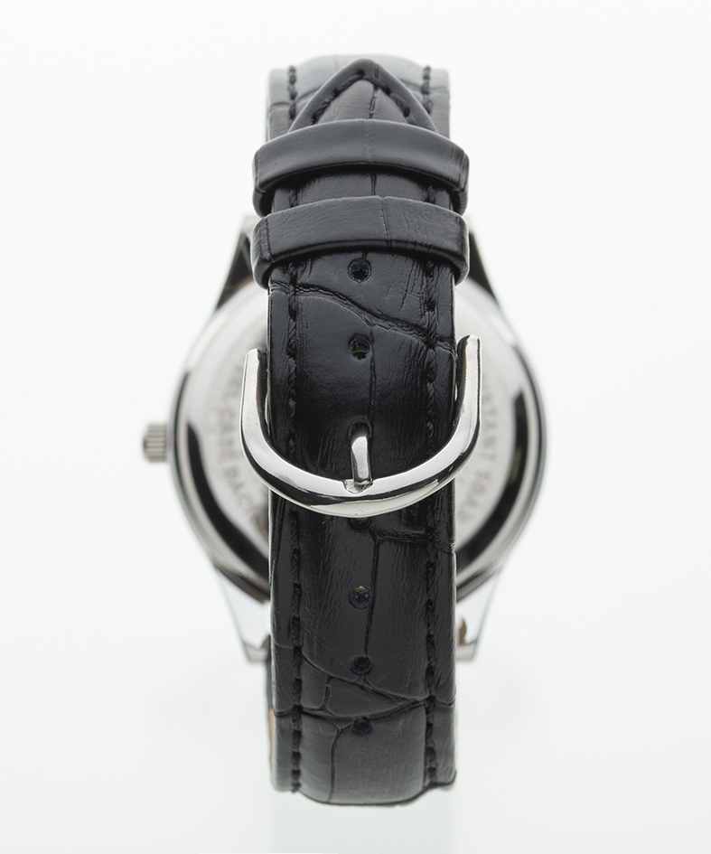TELVA テルバ アナログウオッチ メンズ 本革 腕時計【TE-AM031】