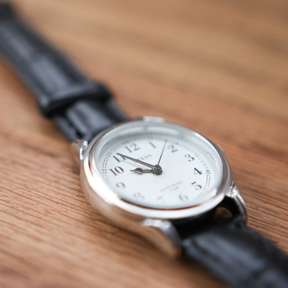 TELVA テルバ アナログ時計 レディース シンプル【TE-AL022】