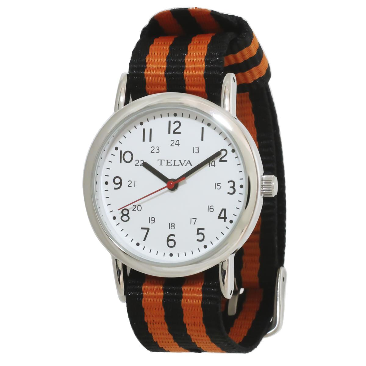 TELVA テルバ アナログウオッチ NATOバンド メンズ レディース 腕時計【TE-AM042】