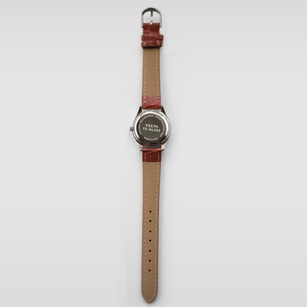 TELVA テルバ アナログ時計 レディース シンプル【TE-AL023】