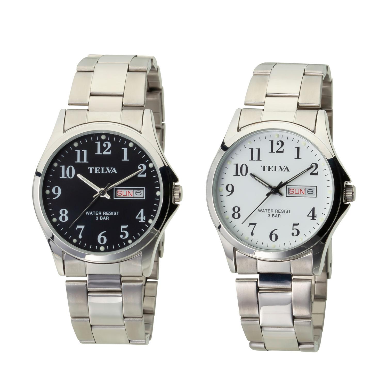 TELVA テルバ アナログウオッチ メンズ 曜日 日付 腕時計【TE-AM178】
