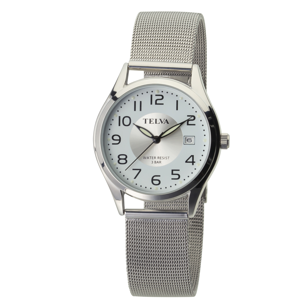 TELVA テルバ アナログウオッチ メンズ 腕時計 薄型針【TE-AM186】