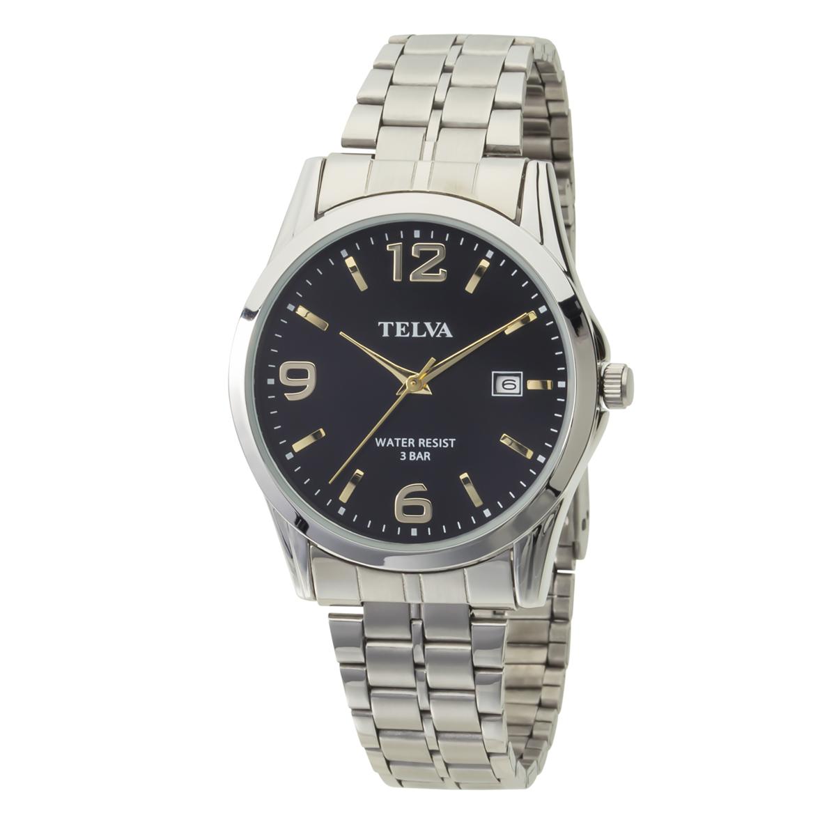 TELVA テルバ アナログウオッチ メンズ 腕時計 薄型針【TE-AM188】