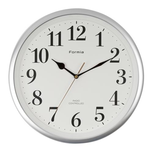 電波掛時計 オフィス 夜間秒針停止機能【HWC-007RC】