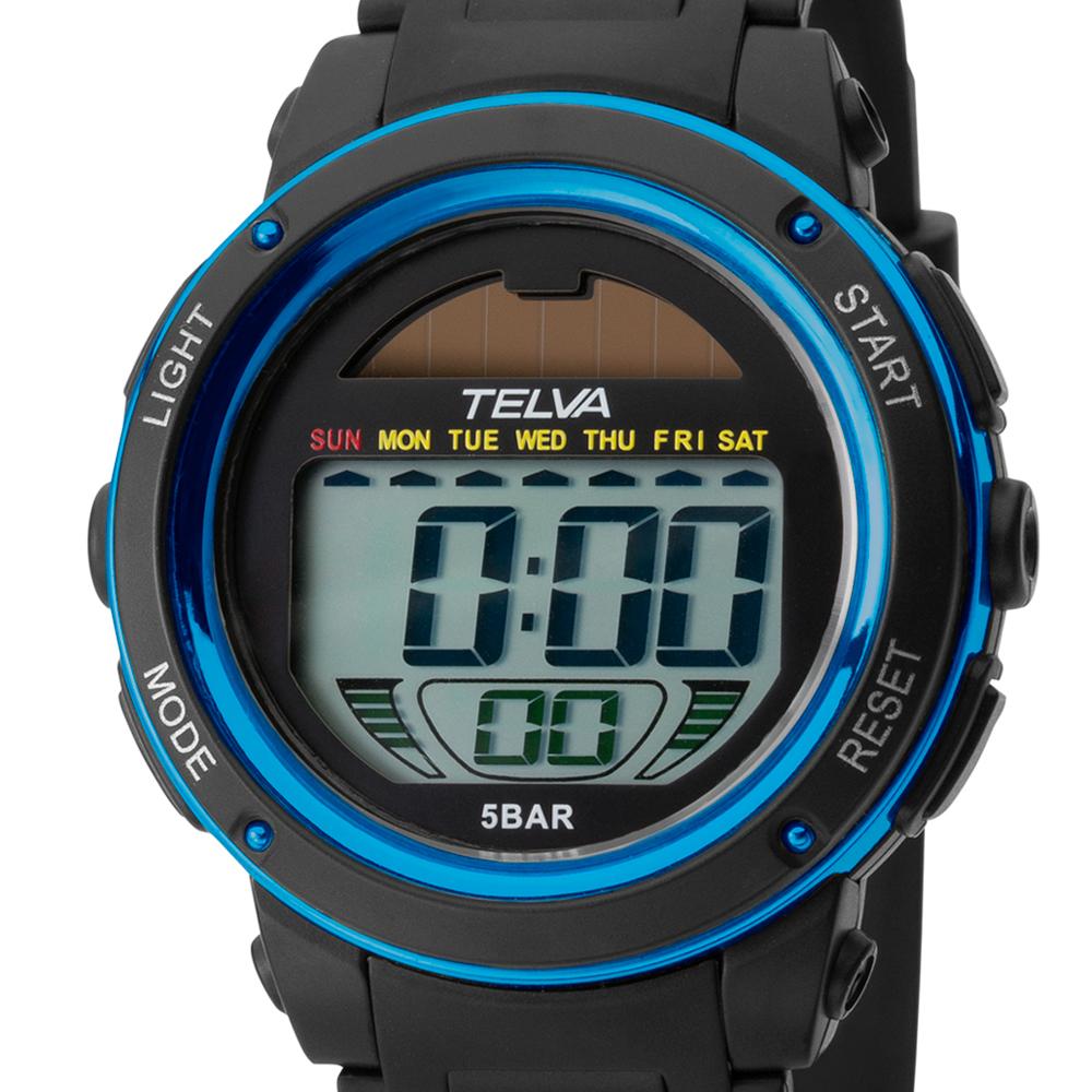 TELVA テルバ デジタルソーラーウオッチ 腕時計【TE-D192】