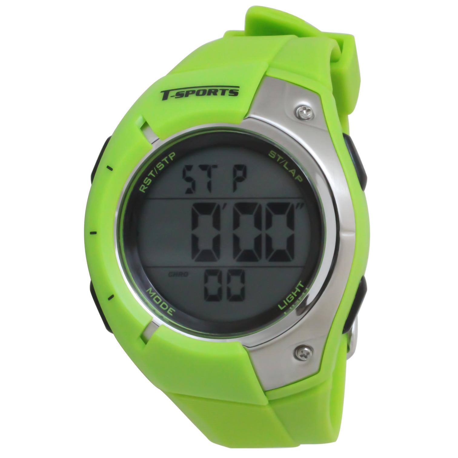 T-SPORTS ティースポーツ デジタルウオッチ 150ラップ 腕時計【TS-D033】