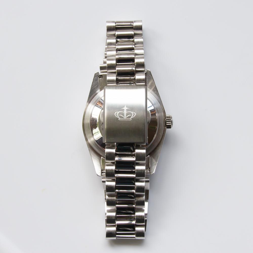 銀無垢 アナログウォッチ 腕時計 純銀 財務省検定マーク【SIG-925-93】