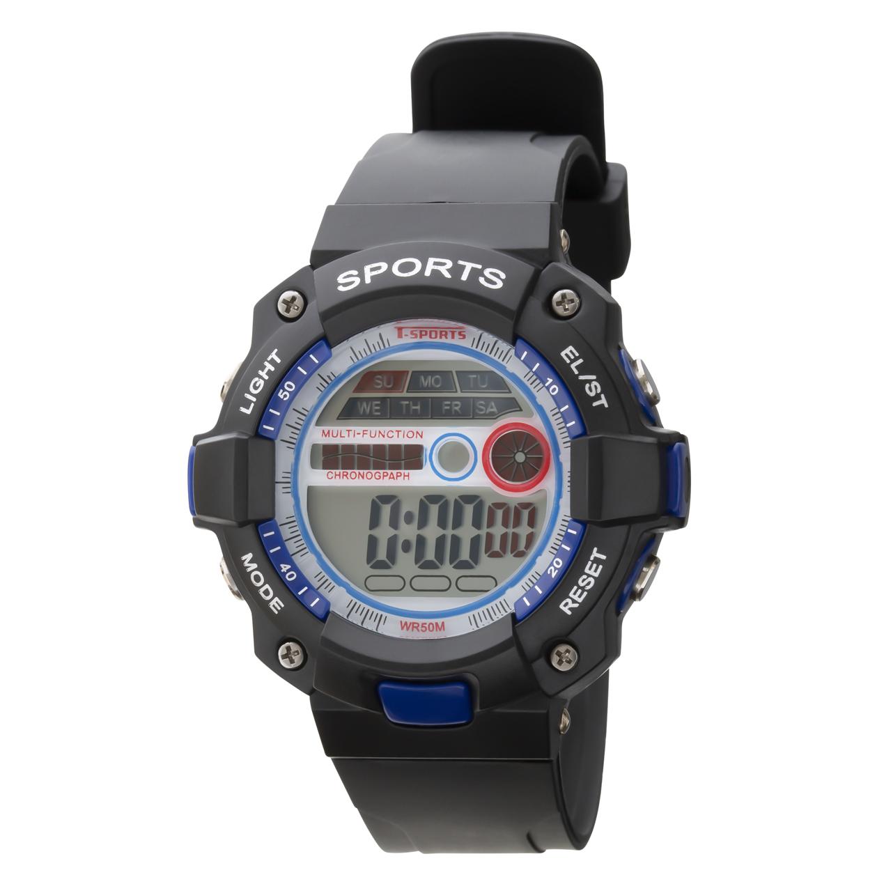 T-SPORTS ティースポーツ デジタルウオッチ 腕時計【TS-D154】