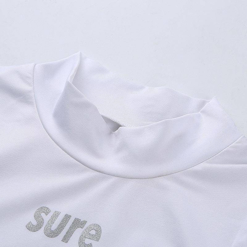タンクトップ ショート丈 トップス レディース へそ出し フィットネス ヨガ ジム ダンス 衣装 韓国 ファッション スポーツウェア セクシー かっこいい おしゃれ ホワイト
