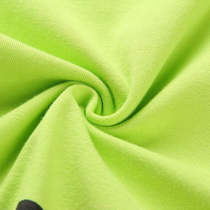 ポロシャツ ショート丈 トップス へそ出し シャツ レディース ダンス 衣装 韓国 ファッション セクシー かっこいい おしゃれ かわいい 黄緑 イエローグリーン
