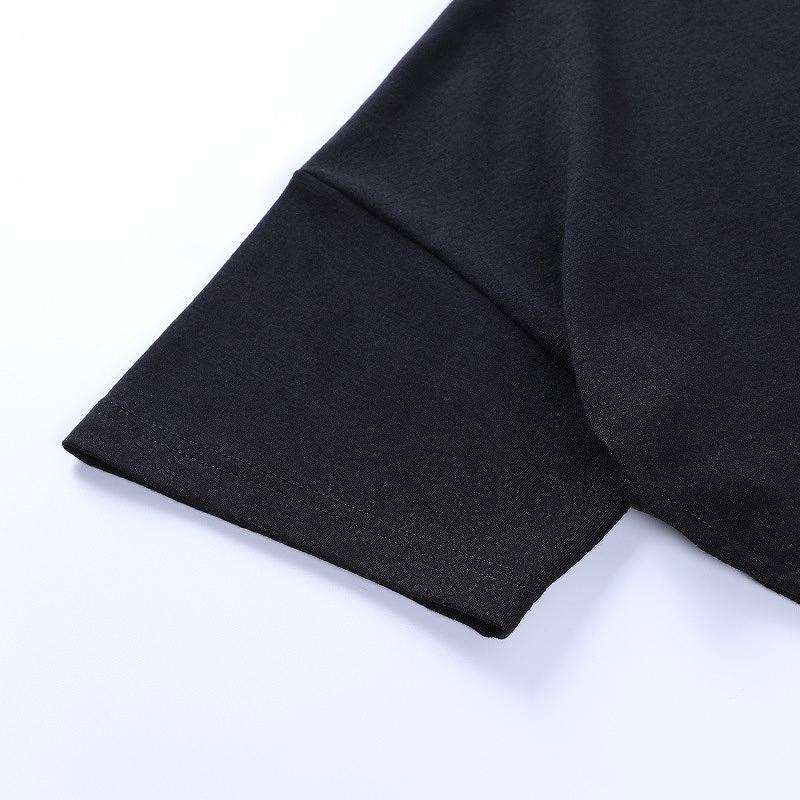 ロングテール レディース ロングt カジュアル tシャツ ダンス 衣装 ゆったり 大きめ ロング丈 ブラック ホワイト 韓国 ファッション ヒップホップ hiphop かっこいい おしゃれ かわいい 女性