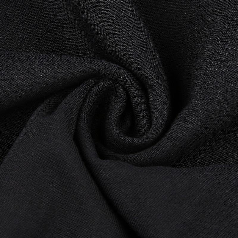 パーカー ショート丈 ヒップホップ hiphop レディース ダンス衣装 トレーナー チェーン付 へそ出し 長袖 韓国ファッション かっこいい おしゃれ かわいい ブラック
