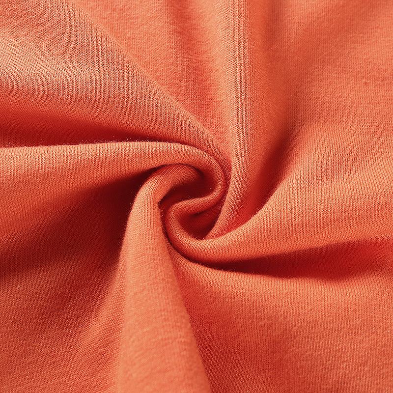ロンT トレーナー 大きめ ダンス衣装 レディース ヒップホップ hiphop ショート丈 トップス 薄手 へそ出し 長袖 韓国ファッション かっこいい おしゃれ かわいい オレンジ