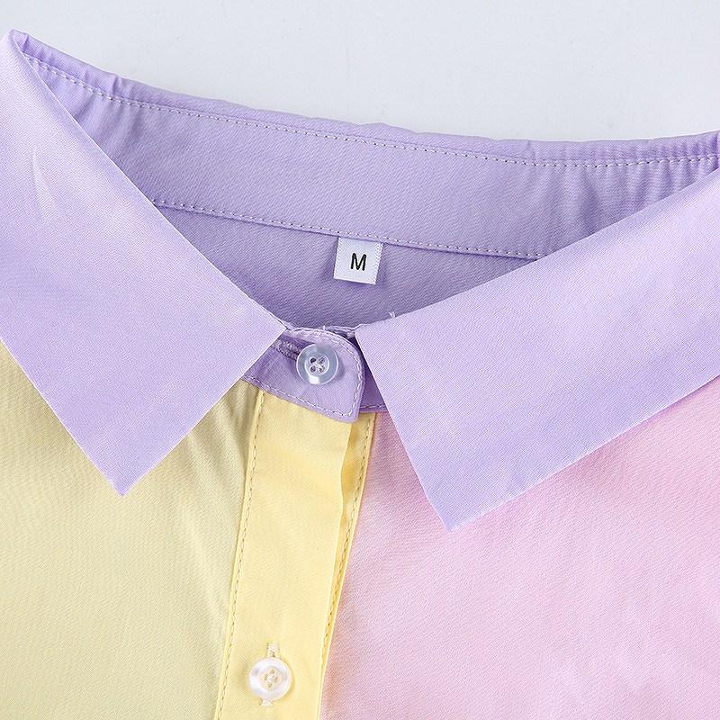 シャツ 大きめ レディース ダンス衣装 ヒップホップ hiphop シャツワンピ アシンメトリー 長袖 韓国ファッション かっこいい おしゃれ かわいい