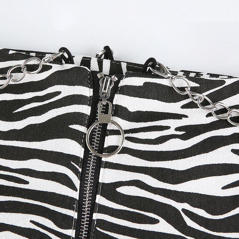 スリットパンツ ダンス衣装 ボトムス アニマル柄パンツ 牛柄 レディース ワイドパンツ スリット チェーン付 韓国ファッション かっこいい おしゃれ かわいい