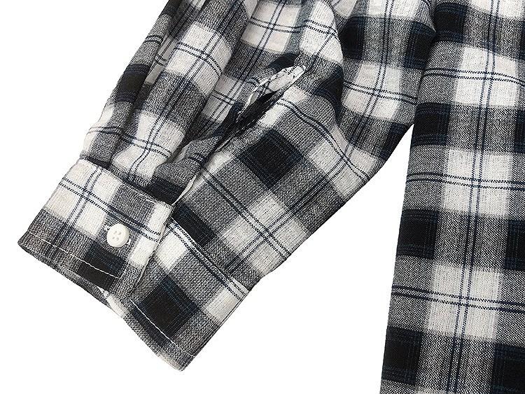 シャツ ギンガムチェック レディース 羽織 韓国ファッション 大きめ 大きいサイズ オーバーサイズ 体系カバー かわいい おしゃれ
