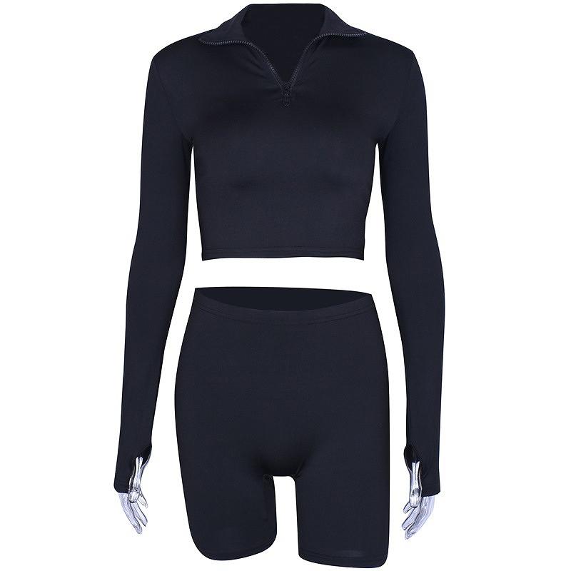 セットアップ ブラックコーデ レディース ダンス衣装 ジム ヨガ フィットネス 2点セット 上下セット かっこいい おしゃれ かわいい セクシー
