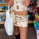 スカート 猫 ボトムス キャット セットアップ レディース ダンス 衣装 ミニ丈 ミニスカート 女性 韓国 ファッション ヒップホップ hiphop かっこいい おしゃれ かわいい セクシー