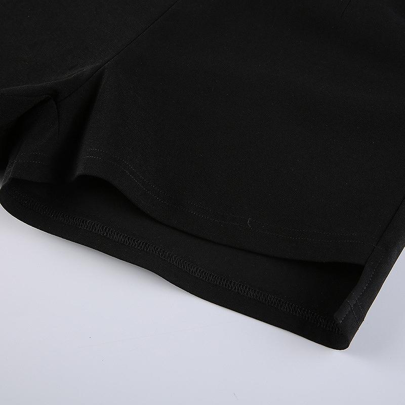 ショートパンツ ブラック ダンス 短パン レディース ショーパン ダンス 衣装 韓国 ファッション セクシー ジム フィットネス ヨガ かっこいい おしゃれ かわいい