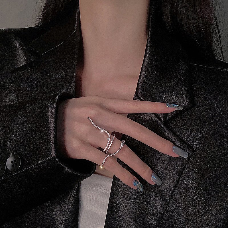 指輪 フィンガーリング レディース シルバーリング 韓国 ファッション アクセサリー ジュエリー 女性 おしゃれ かわいい かっこいい 韓国ジュエリー 韓国アクセ