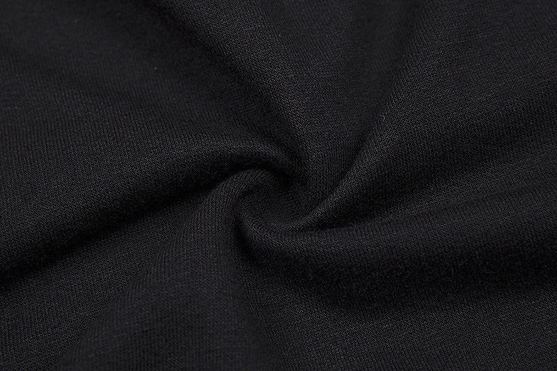 ショート丈 トップス パーカー レディース ライン ダンス 衣装 韓国 ファッション へそ出し セクシー イベント かっこいい おしゃれ かっこいい ブラック 黒