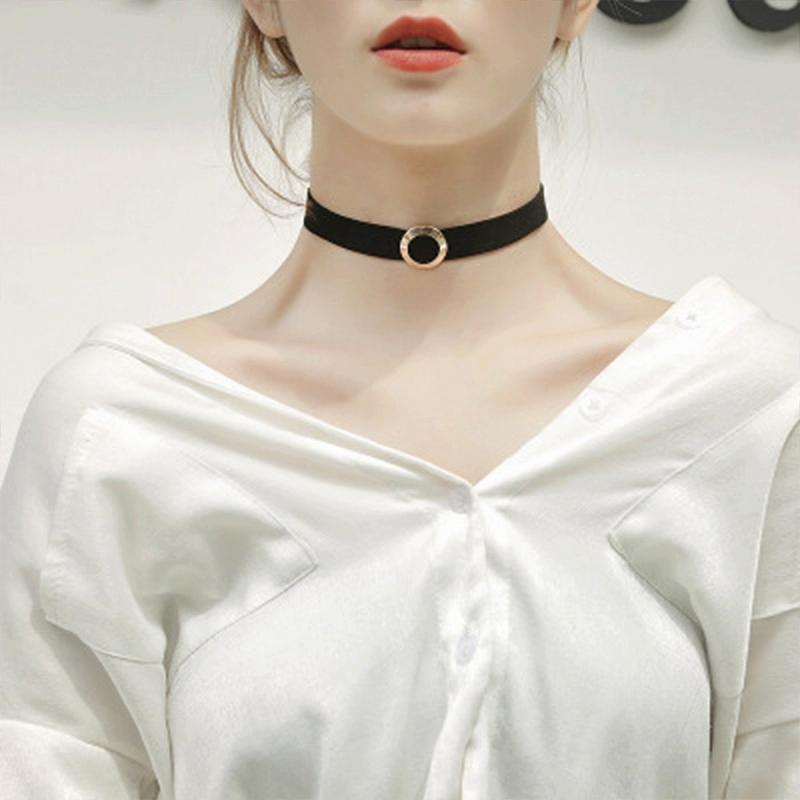 レディースチョーカー ネックレス アクセサリー レース リング ハート 紐 パール ダンス 衣装 ヒップホップ ペンダント 女性 韓国アクセ ブラック 韓国ジュエリー 韓国 原宿 系 おしゃれ シンプル かわいい 可愛い