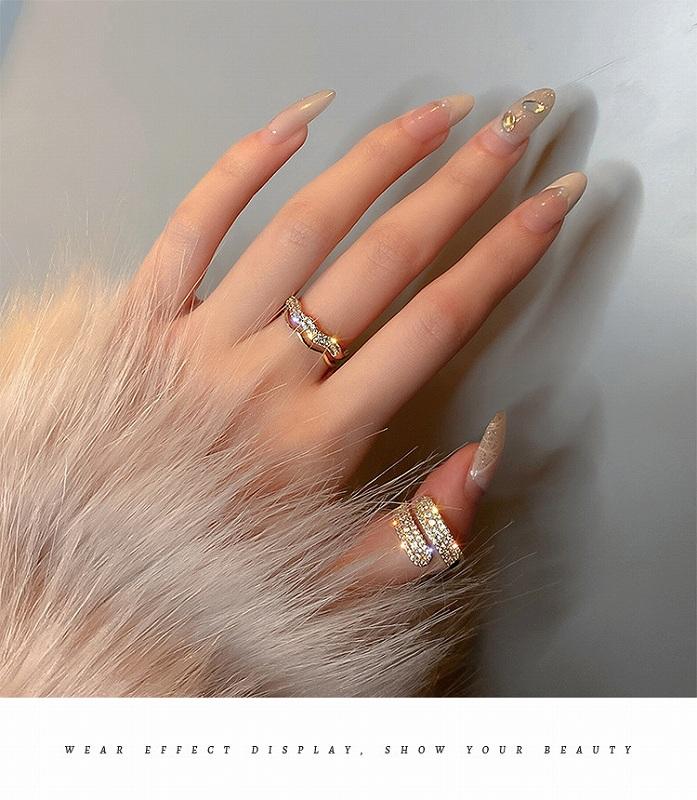 リング 韓国 ファッション 指輪 レディース ビジュー キラキラ ラメ アクセサリー ジュエリー 女性 おしゃれ かわいい かっこいい 韓国ジュエリー 韓国アクセ