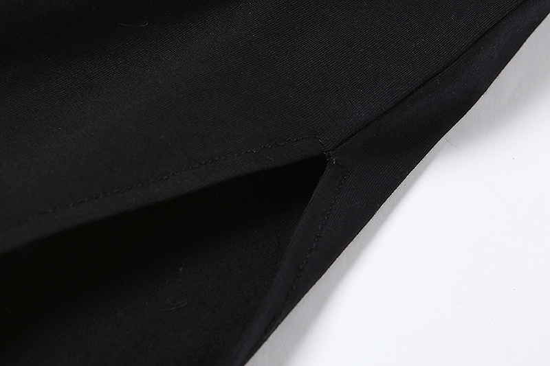 ワンピース オフショル サイドスリット 長袖 レディース スリム 韓国ファッション ブラック ドレス タイト かっこいい おしゃれ かわいい セクシー 女性
