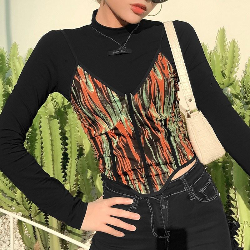 キャミソール インナーセット 2点セット レディース ダンス 衣装 韓国 ファッション ヒップホップ hiphop かっこいい おしゃれ かわいい セクシー 女性