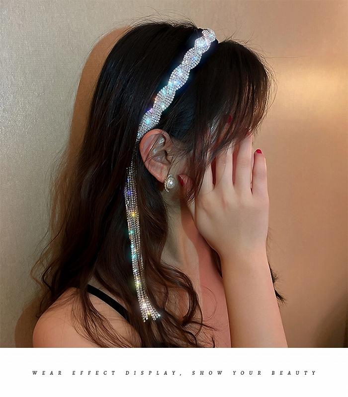 カチューシャ ラインストーン ヘアバンド レディース ヘアアクセサリー ダンス 衣装 ストリート ヒップホップ hiphop アクセサリー 韓国ファッション 女性 韓国アクセサリー おしゃれ かわいい かっこいい ビジュー ヘア飾り 韓国ジュエリー