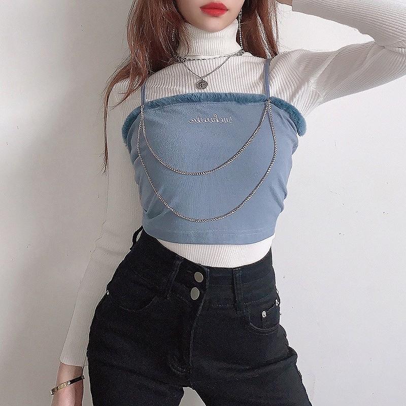 キャミソール ダンス 衣装 レディース チューブトップ 韓国 ファッション ヘソ出し ベアトップ ヒップホップ hiphop コスプレ かっこいい おしゃれ かわいい セクシー 女性