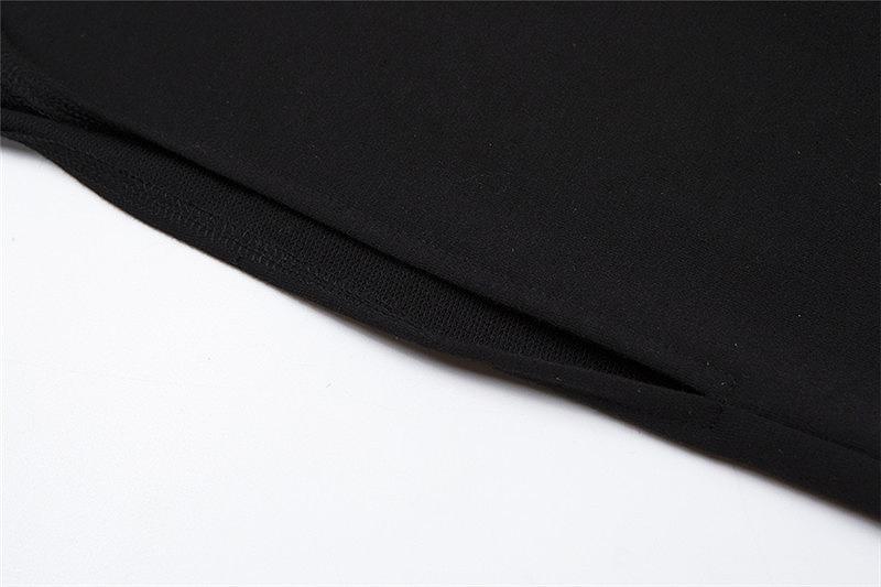 ワンショルダー レディース トップス アームウォーマー 片腕 スリーブ 衣装 ダンス イベント 長袖 韓国 ファッション かっこいい おしゃれ セクシー 黒 ブラック