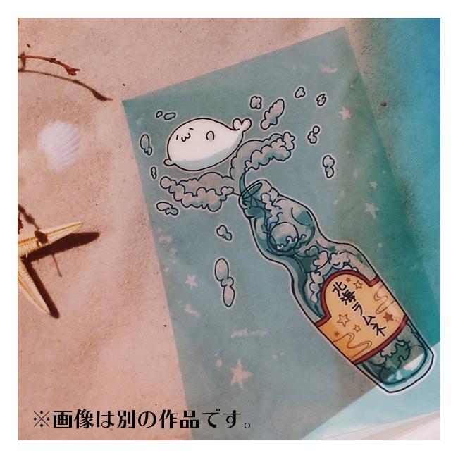 クリアカード【ひとえうさぎ】