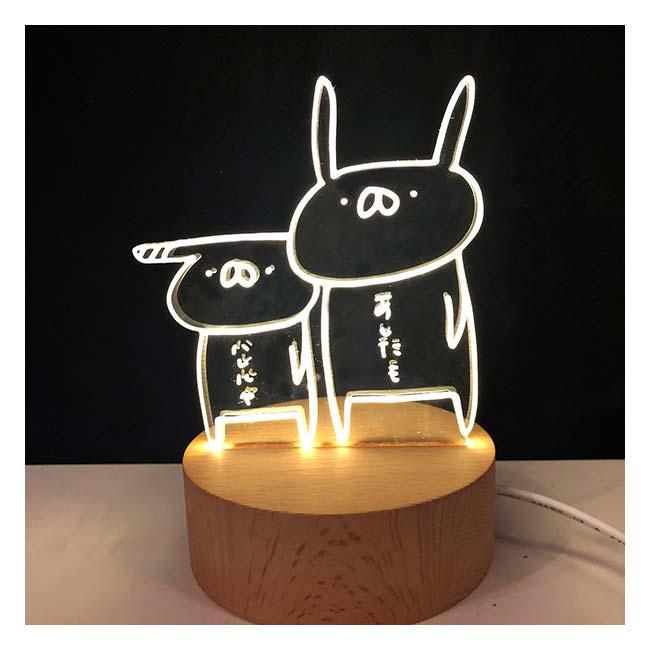 【完全受注3/6まで】うさぎ帝国LEDランプライト【うさぎ帝国】