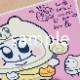 一次注文★あにゃさん直筆サイン入り★A4複製原画【愛・ちみ博】(コンプセット)