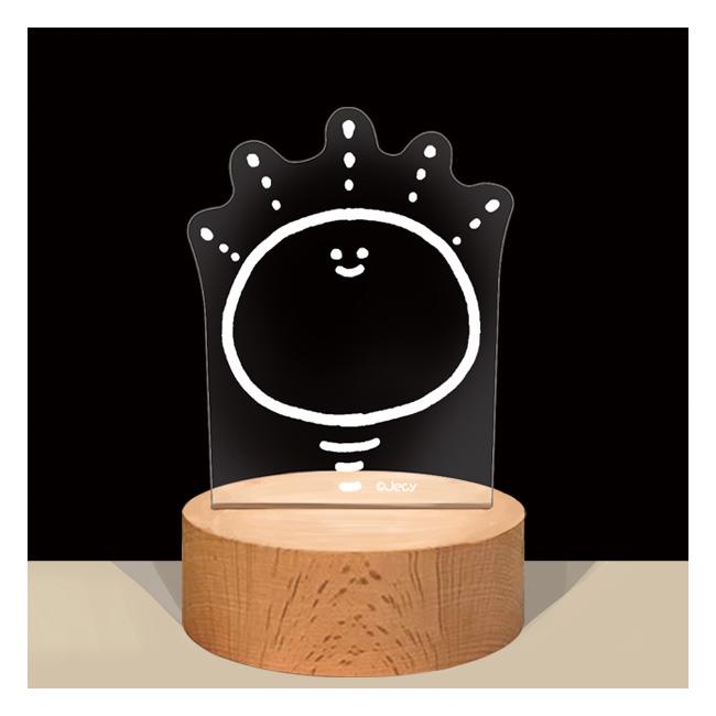 【4月お届け予定】こむぎこをこねたもの LEDランプライト【Jecy】