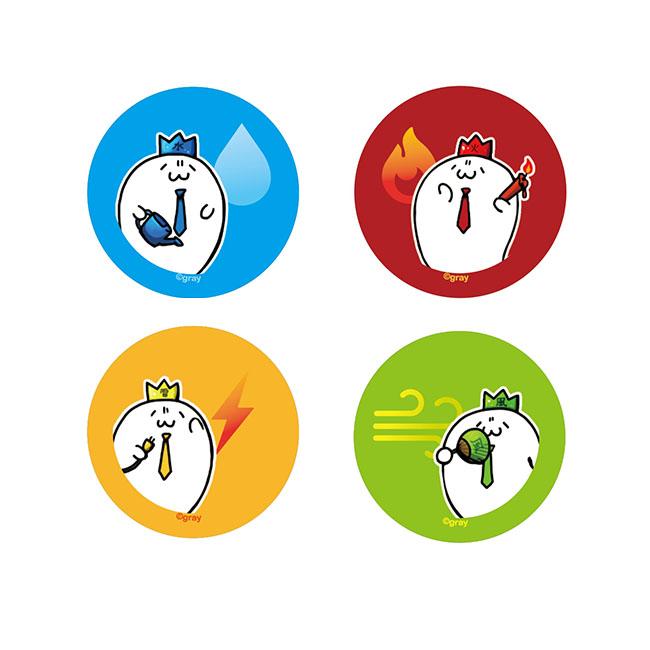 【限定・田中付き!】四天王はしおきセット【北海の魔獣あざらしさん展2020】