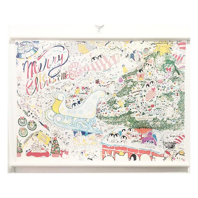 【A2タペストリー】クリスマスライブペインティング2019