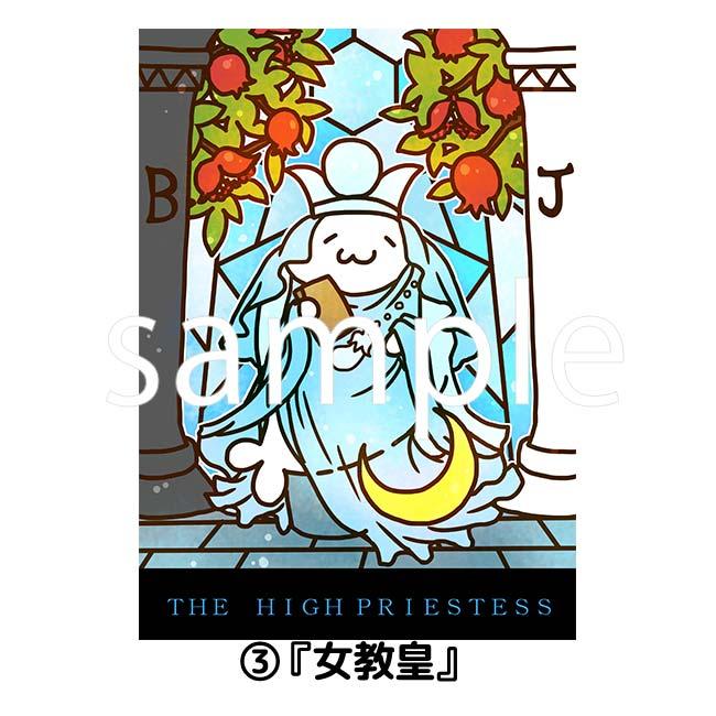 あざらしさんタロットイラストシリーズ・複製原画【北海の魔獣あざらしさん】