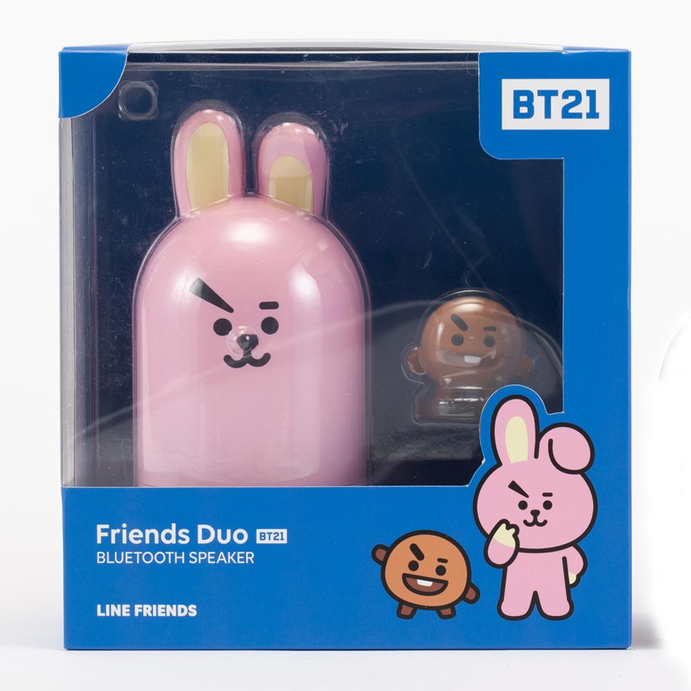 BT21 Friends Duo Bluetooth Speaker LINE FRIENDS COOKY + SHOOKY