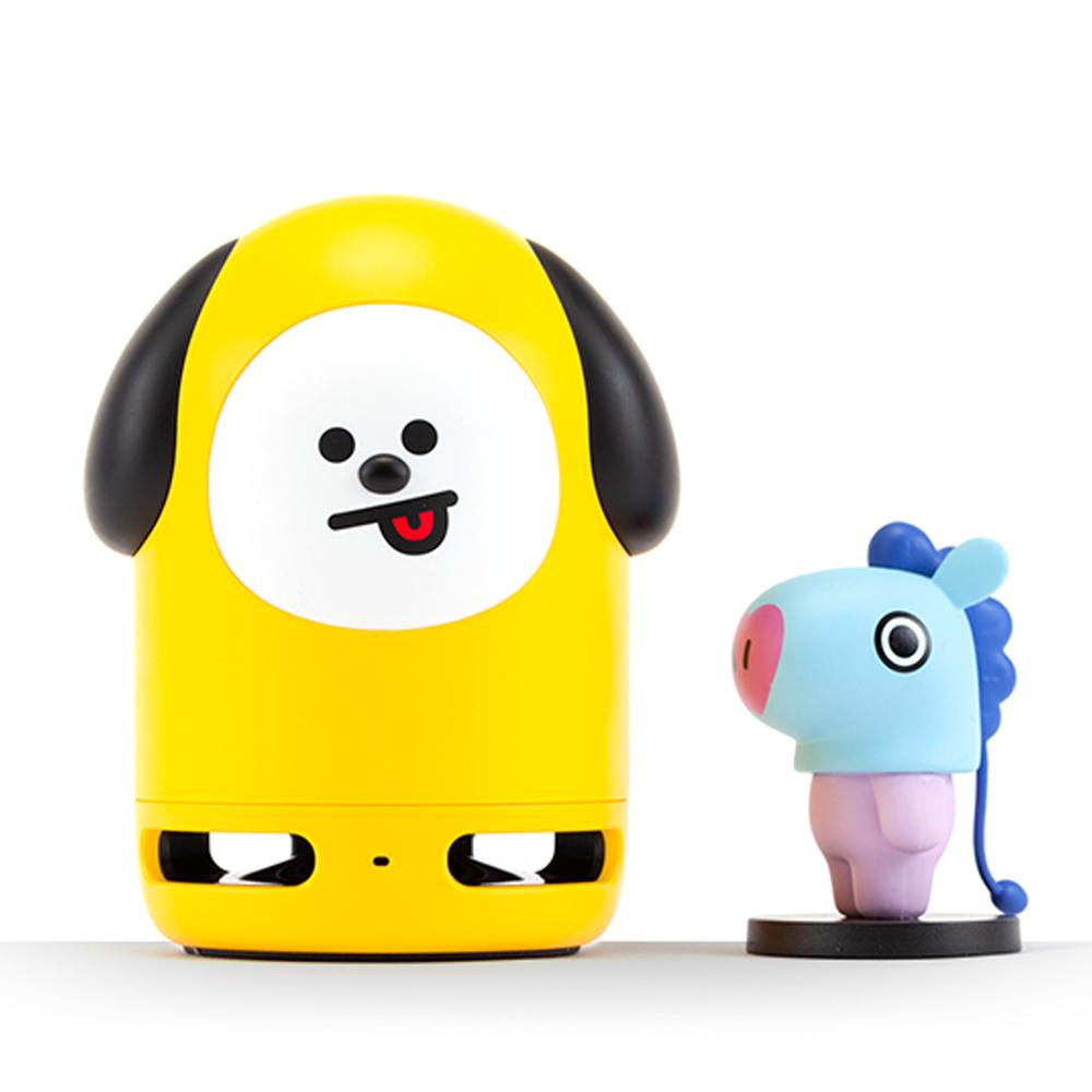 BT21 Friends Duo Bluetooth Speaker LINE FRIENDS CHIMMY + MANG