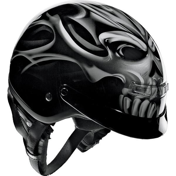 Z1R Nomad Sinister ノーマッドシニスター ハーフヘルメット /バイク用ヘルメット